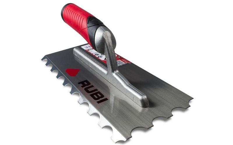 Гребёнка 28×12 см Rubi<br> U-зубцы R-10 мм    наклон 45°<br> 75924